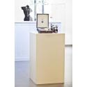 Solits plinth white, 25 x 25 x 100 cm (LxWxH)
