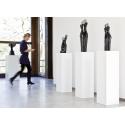 Solits plinth white, 35 x 35 x 100 cm (LxWxH)