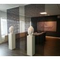Solits plinth white, 40 x 40 x 100 cm (LxWxH)