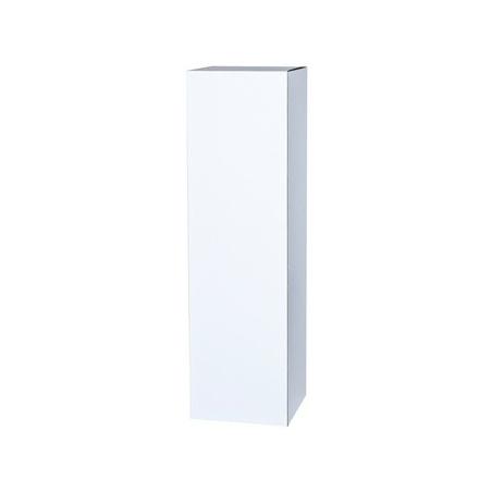 cardboard plinth white, 30 x 30 x 100 cm (LxWxH)