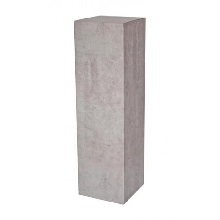cardboard plinth concretelook, 28,5 x 28,5 x 100 cm (LxWxH)
