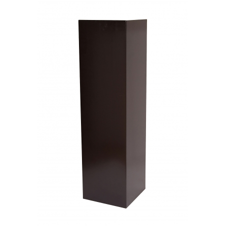 Solits plinth black, 50 x 50 x 100 cm (LxWxH)