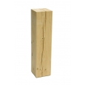 Oak wood plinth - bespoke