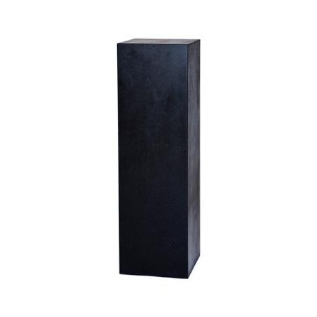 Solits plinth stone look, 50 x 50 x 100 cm (LxWxH)