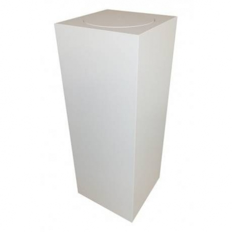 plinth with rotating platform 40 x 40 x 100 cm (LxWxH)