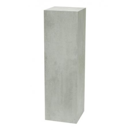 Solits plinth concrete look, 30 x 30 x 100 cm (LxWxH)