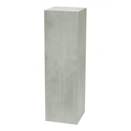 Solits plinth concrete look, 50 x 50 x 100 cm (LxWxH)