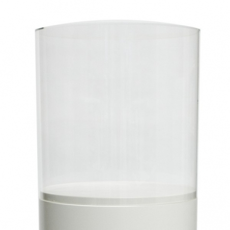 Acrylic protective case, circular, D50 cm, H50 cm