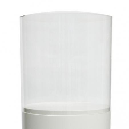 Acrylic protective case, circular, D25 cm, H25 cm