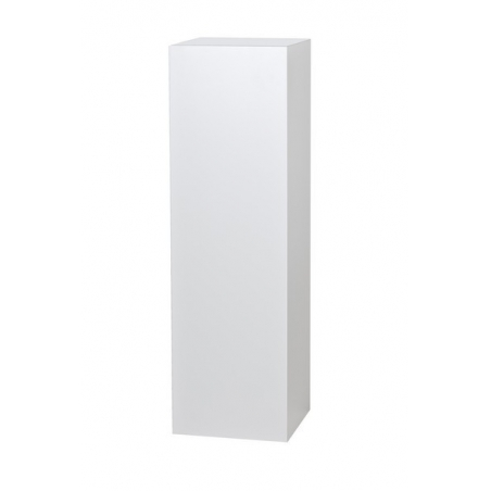 Solits plinth white, 20 x 20 x 110 cm (LxWxH)