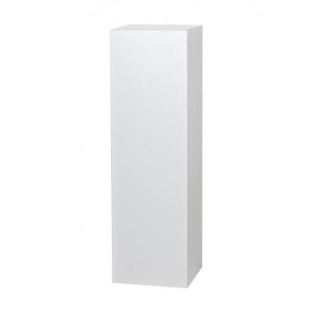 Solits plinth white, 40 x 40 x 115 cm (LxWxH)