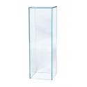 Glass Plinth, 25 x 25 x 60 cm (l x w x h)