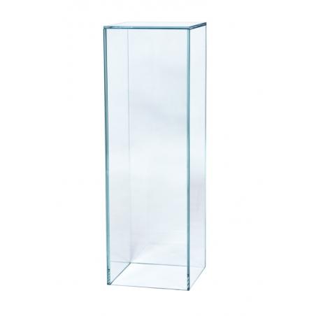 glass plinth, 25 x 25 x 80 cm (LxWxH)