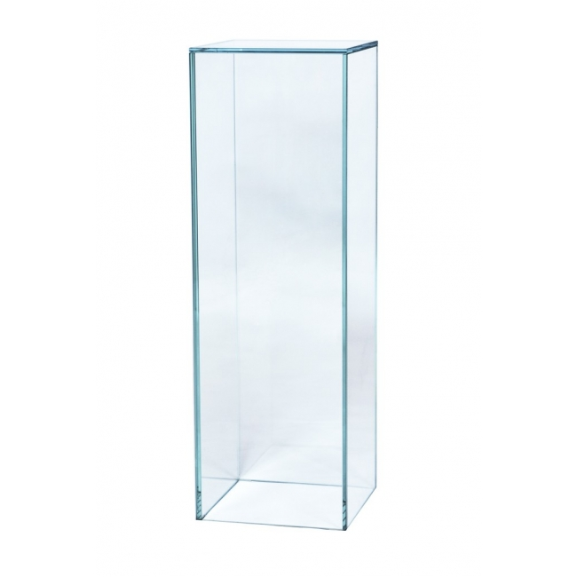 Glass Plinth, 30 x 30 x 80 cm (l x w x h)
