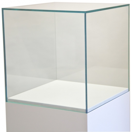 Glass Display Case, 35 x 35 x 35 cm (l x w x h)