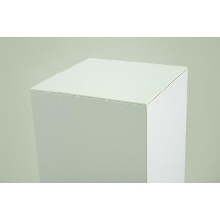 Acrylic plate 4mm, white, 45,2 x45,2 cm (for cardboard plinth 45 x 45 cm)