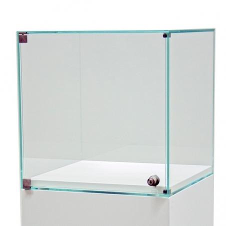 Counter showcase with door 40 x 40 x 40 cm