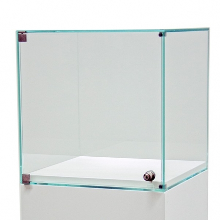 Vitrine display with door 45 x 45 x 45 cm