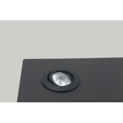 LED spot, Type 7L, height 405 mm, 4x1W, Silver