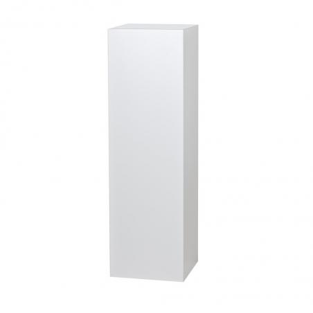 Solits plinth white high gloss, 30 x 30 x 100 cm (LxWxH)