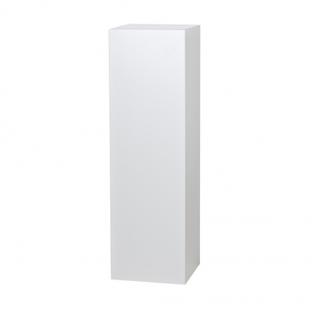 Solits plinth white high gloss, 30 x 30 x 100 cm (LxWxH)