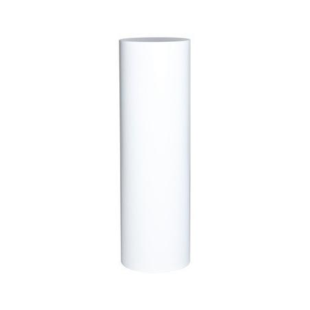circular plinth, white, 63 x 63 x 100 cm (LxWxH)