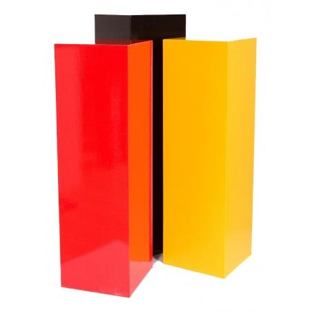 Solits plinth colour, 35 x 35 x 100 cm (LxWxH)