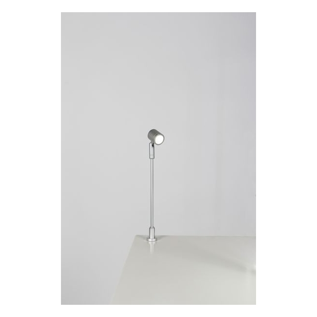 LED Spot, Type 1, adjustable, height 216 mm, 1W, 6000K, silver