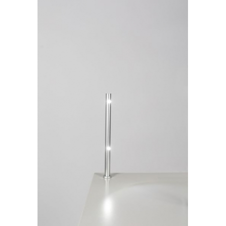 LED Spot, Type 7, heigth 216 mm, 2x1W, 6000K, silver