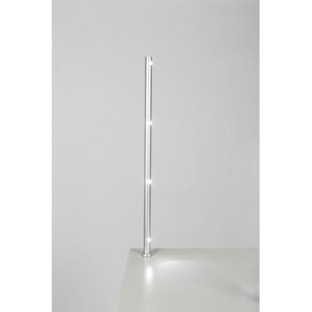 LED Spot, Type 7L, height 405 mm, 4x1W, 6000K, Silver