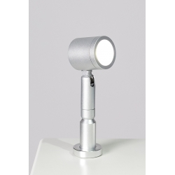 LED spot, Type 9, 1W, silver