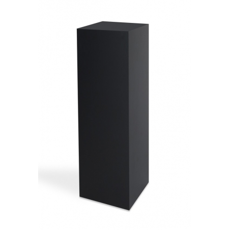 Solits plinth black Matt 20 x 20 x 60 cm