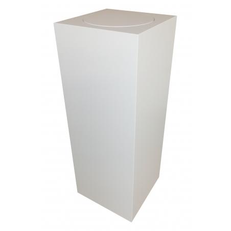plinth with rotating platform 30 x 30 x 100 cm (LxWxH)