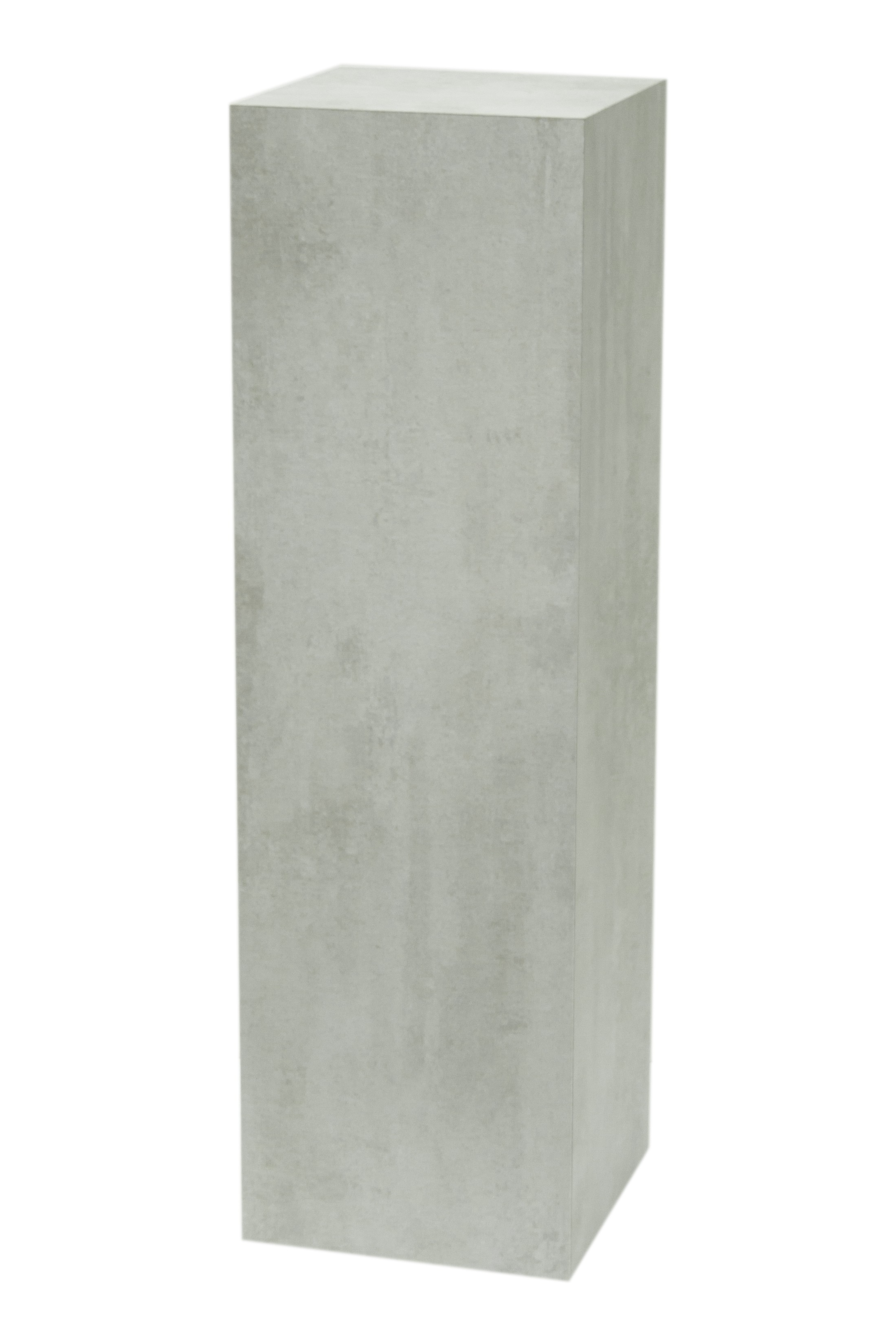 Solits plinth concrete look