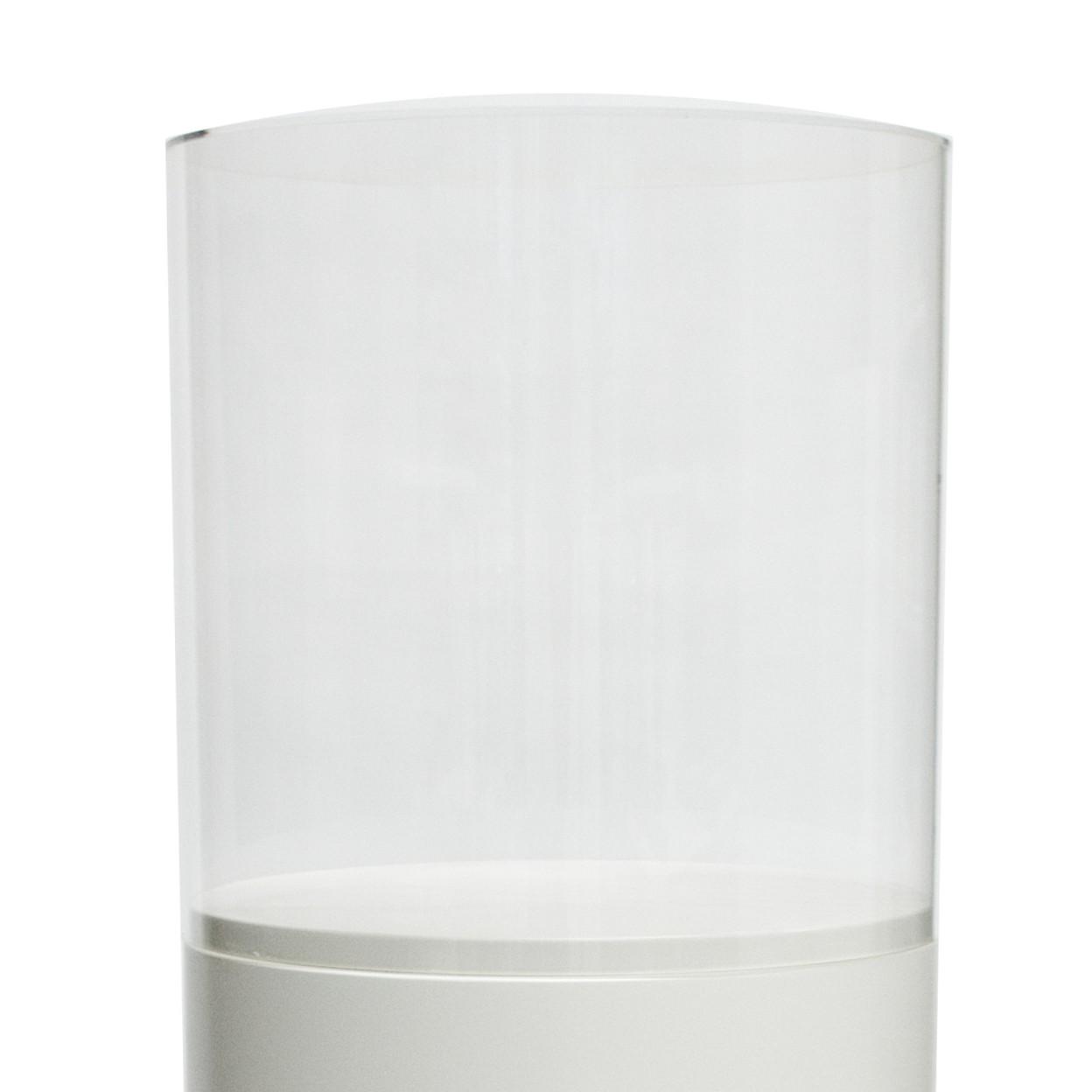 Acrylic display case, round