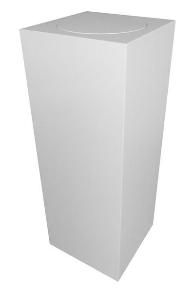 Plinth with rotating platform