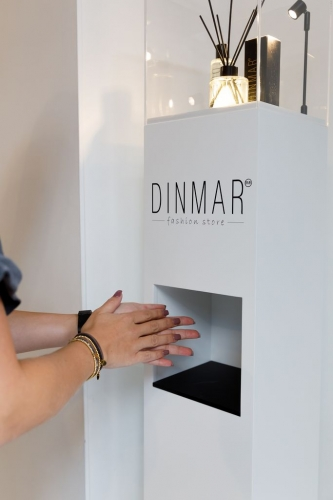 A dispenser that adds to the beauty of your interior!